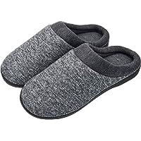 Pacrate Zapatillas de Casa para Mujer Hombre Unisexo