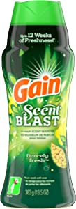 GAIN Fireworks, Scent Blast, in-wash Scent Booster Beads, Fiercely Fresh, 13.5 oz