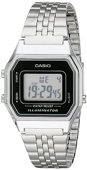 35534c8be67 Relógio Feminino Digital Casio Vintage LA680WA-1DF - Prata  Amazon ...