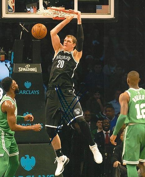 Autographed Timofey Mozgov Photo - 8X10 COA - Autographed NBA Photos ... a0149754f7e1