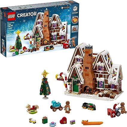 Christmas 2020 Gingerbread House Amazon.com: LEGO Creator Expert Gingerbread House 10267 Building
