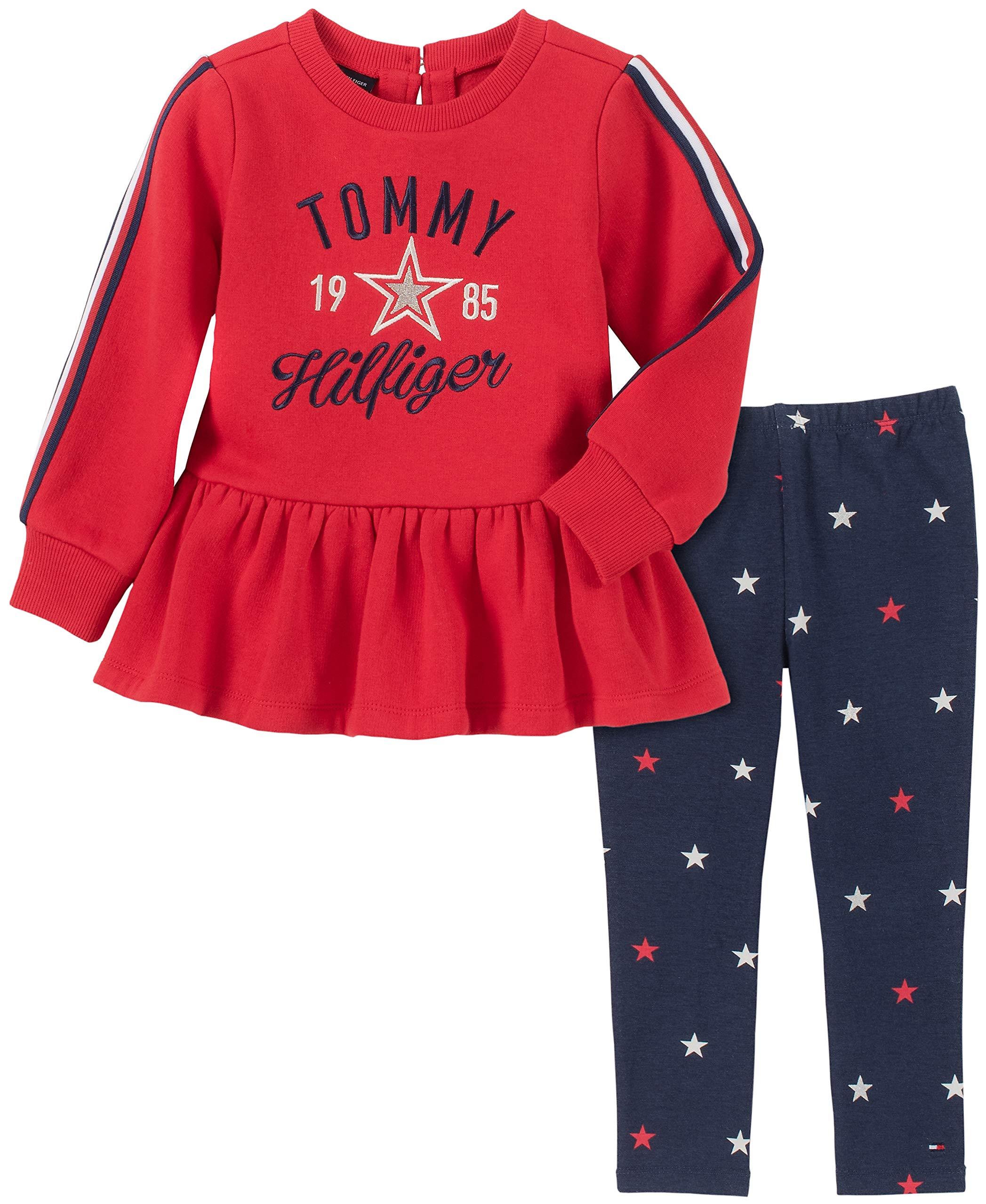 Tommy Hilfiger Girls' 2 Pieces Legging Set
