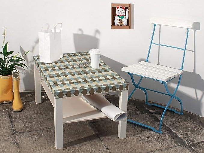 yourdea - pegatinas Tattoo Infantil para Ikea Lack - Mesa auxiliar Mesa con diseño: Cobertizos: Amazon.es: Iluminación