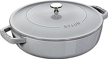 Staub Cast Iron 4-qt Braiser