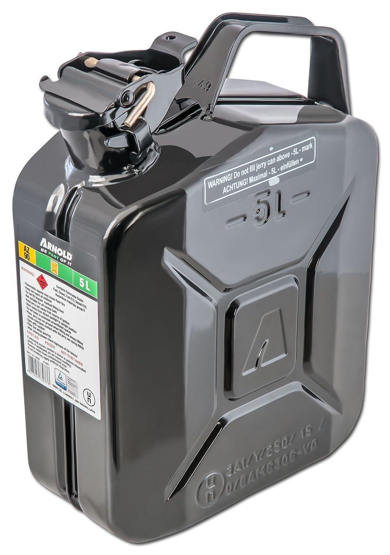 Arnold Metall-Kraftstoffkanister 5 L, schwarz, 6011-X1-2000