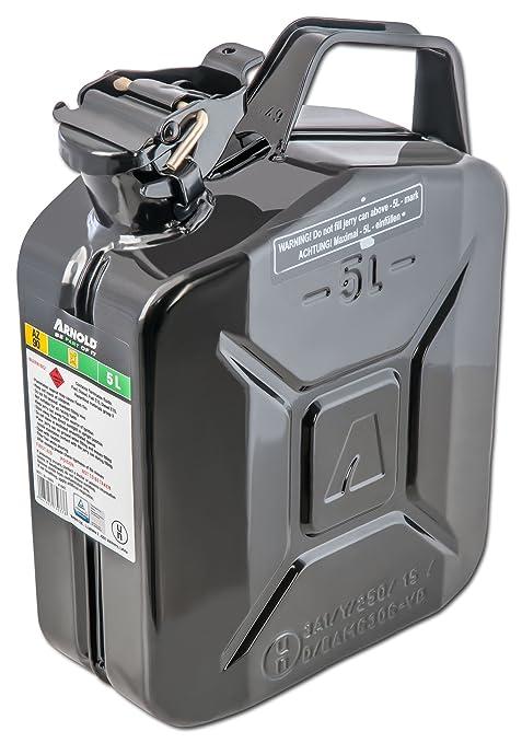 10 opinioni per Arnold, Tanica per carburante in metallo, 5 L, nero, 6011-X1-2000