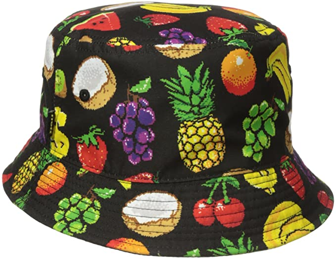 Amazon.com  neff Men s Hard Fruit Bucket Hat e887b96f41f