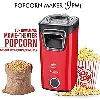 Warmex Home Appliances Plastic Popcorn Maker (1100 watts, Red and Black)