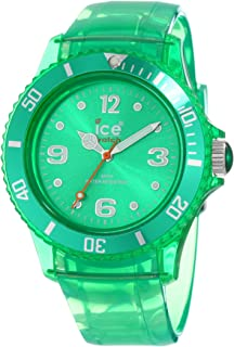 Ice-Watch Womens Quartz Plastic and Polyurethane Casual Watch, Color:Green (Model
