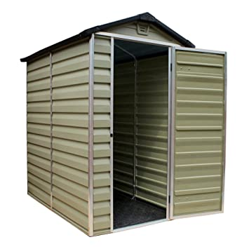 palram 6 x 10 plastic skylight shed greenhouse s