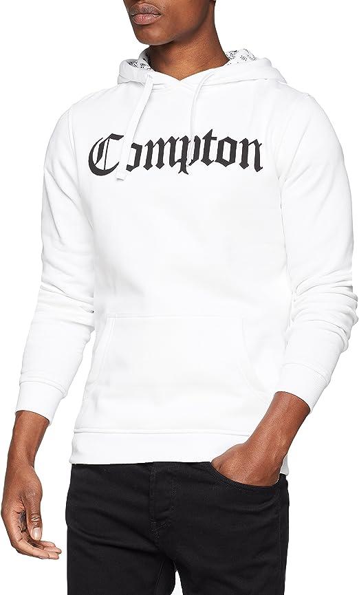 TALLA XS. Mister Tee Compton Hooded Bandana Hoody - Sudadera con Capucha Hombre