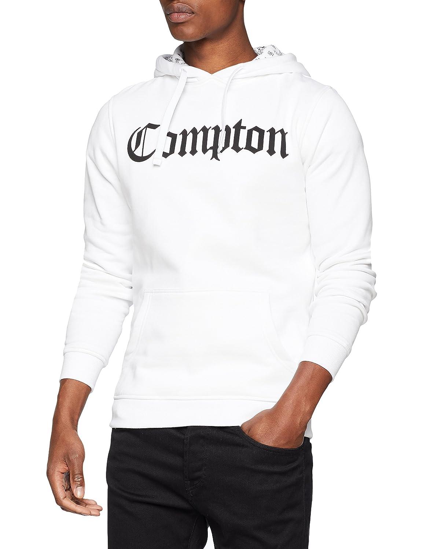 TALLA XS. Compton Hooded Bandana Hoody