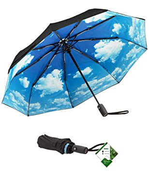 Amazoncom Repel Windproof Travel Umbrella With Teflon Coating