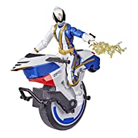 Power Rangers Lightning Collection S.P.D. Omega Ranger and Uniforce Cycle Vehicle...