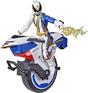 Power Rangers Lightning Collection - Spd Omega Ranger And Uniforce Cycle - 6 Inch Collectible Figure & Bike - Kids Toys - Ages 4+ (Amazon Exclusive)