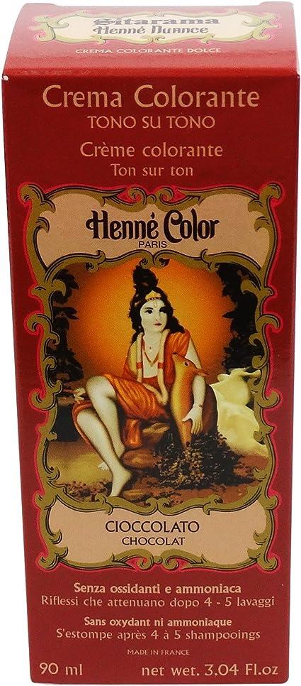 SITARAMA Tinte Vegetal Crema con Henna - Ciocolado - Sin ...