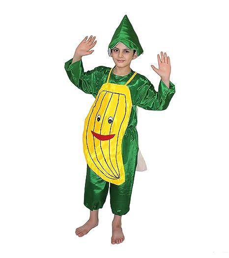 Buy Kaku Fancy Dresses Banana Fruits Costume For School Annual