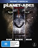 PLANET OF THE APES TRILOGY (3 DISC)