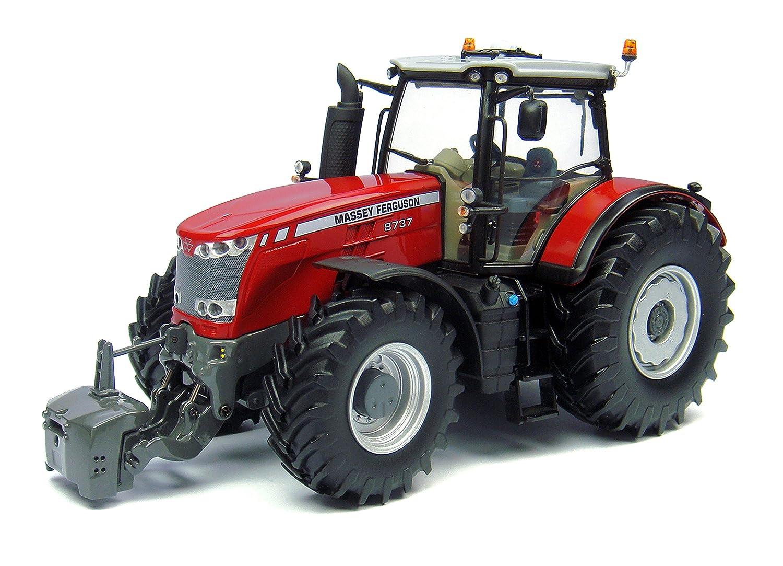Universal Hobbies Model Tractor Trailer 1: 32 Massey Ferguson 8737 - Uh  4231: Amazon.co.uk: Toys & Games