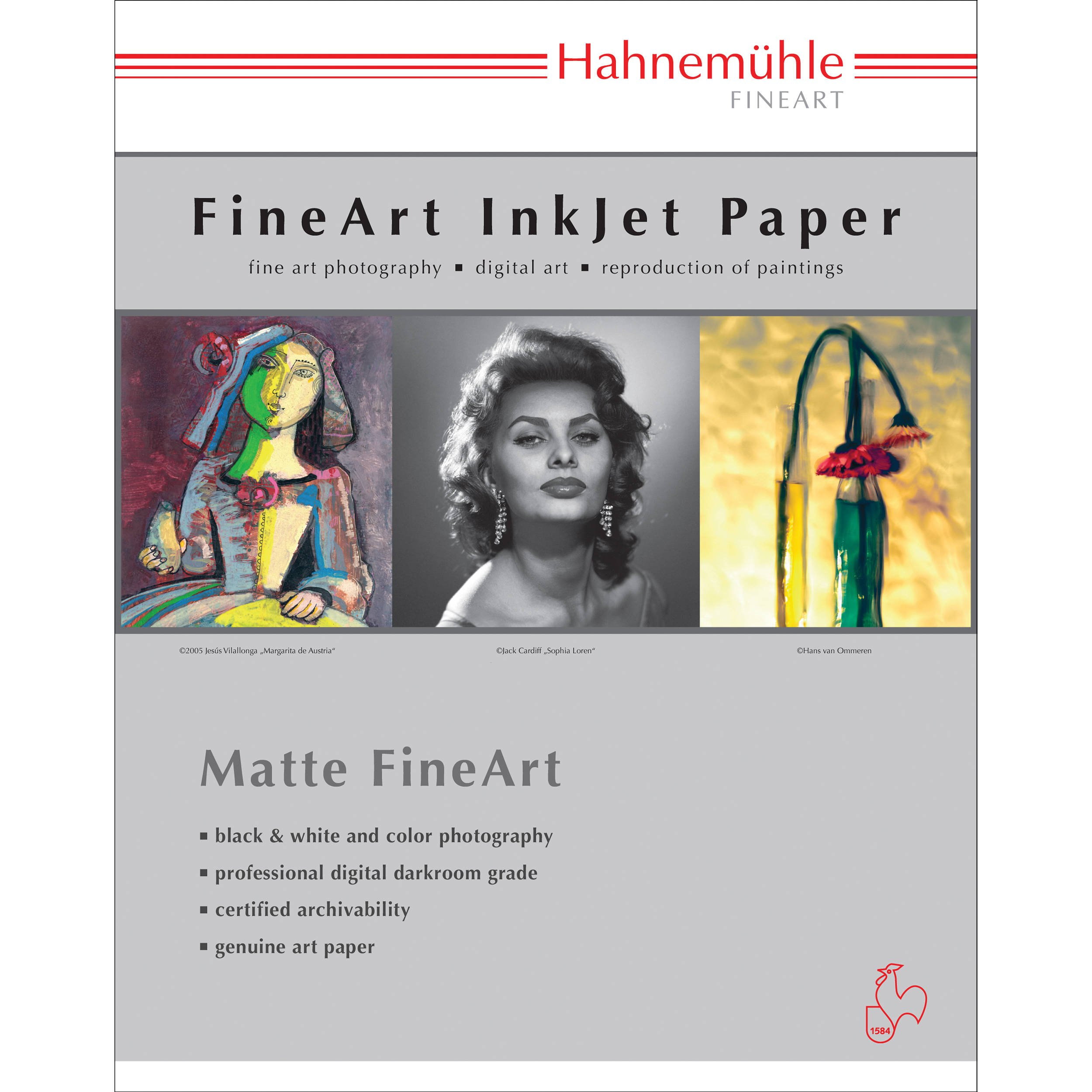 Hahnemuhle 11 x 17 Photo Rag Paper (25 Sheets)