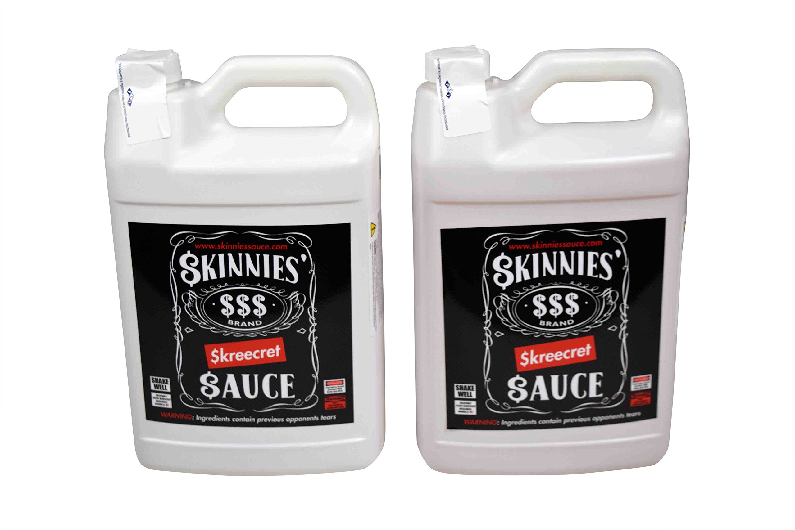 Made in The USA 2 Gallons of Skinnies Skreecret Sauce No Prep Tire Prep Traction Compound (2)
