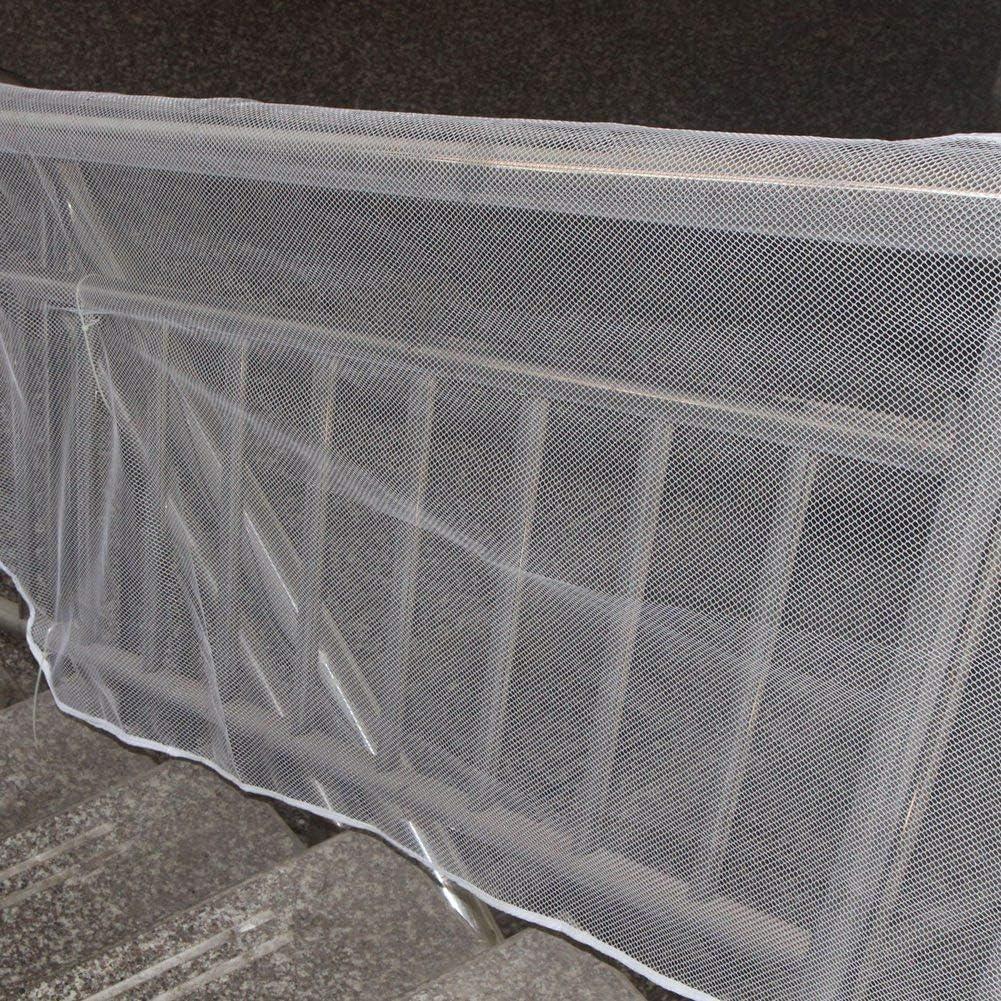 Enfants Escaliers pour Animaux Garde-Corps Pr/évention des Accidents Mesh Indoor /& Outdoor Wifehelper 3 M/ètres Balcon Filet de S/écurit/é Marron