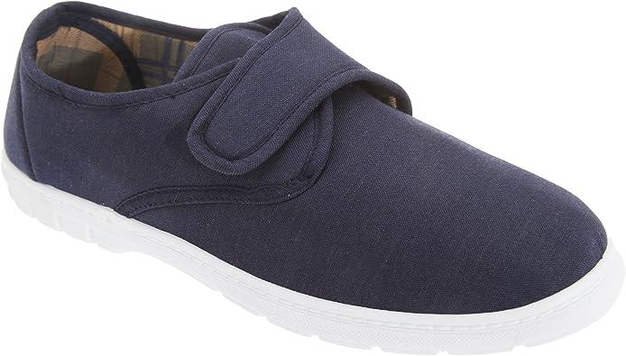 Scimitar - Zapatillas de Tela con Cierre de Cierre Adhesivo Hombre Caballero - Alpargatas/Verano: Amazon.es: Zapatos y complementos