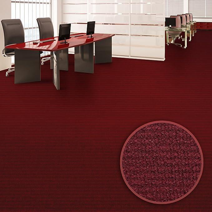 Viele Farben /& Gr/ö/ßen GUT-Siegel 500x200 cm, anthrazit wasserabweisend Floori/® Nadelfilz Teppich Emissions- /& geruchsfrei
