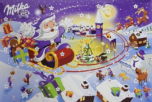 1 Weihnachten.Milka Adventskalender Weihnachten Sortiert 1er Pack 1 X 200 G