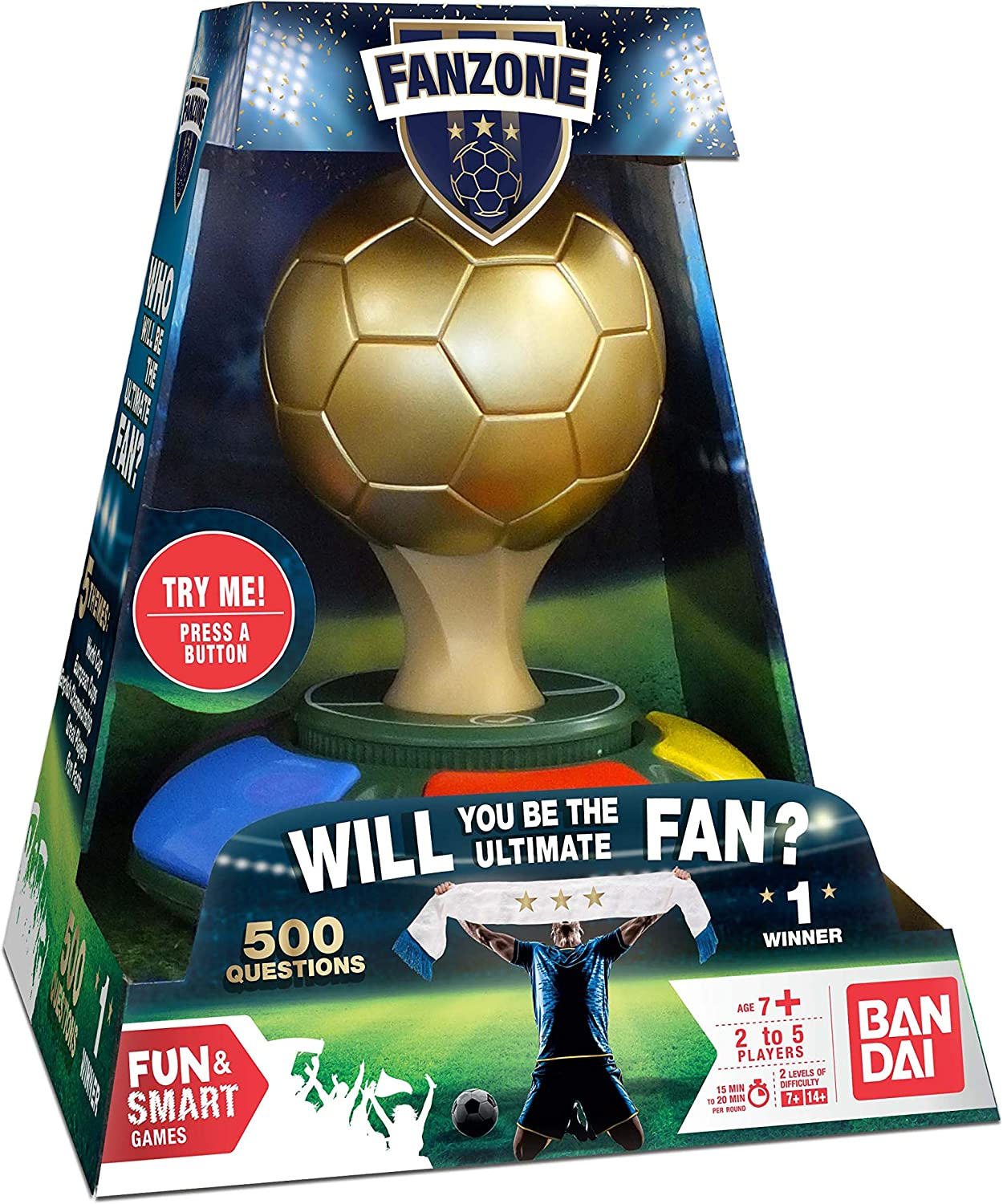 Fanzone Football Trivia Juego, color (Zanzoon ZZ85708) , color/modelo surtido: Amazon.es: Juguetes y juegos