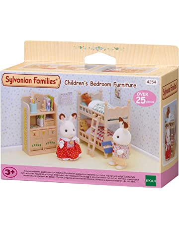 SYLVANIAN FAMILIES- Childrens Bedroom Furniture Mini muñecas y Accesorios, (Epoch para Imaginar 4254
