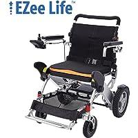 "EZee Life - 3G Portable Compact Folding Heavy Duty Electric Wheelchair (12"" Rear Wheels), Frog Leg Suspensions"