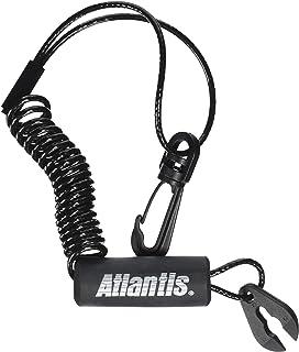 Atlantis Whistle with Clip Black A2700C