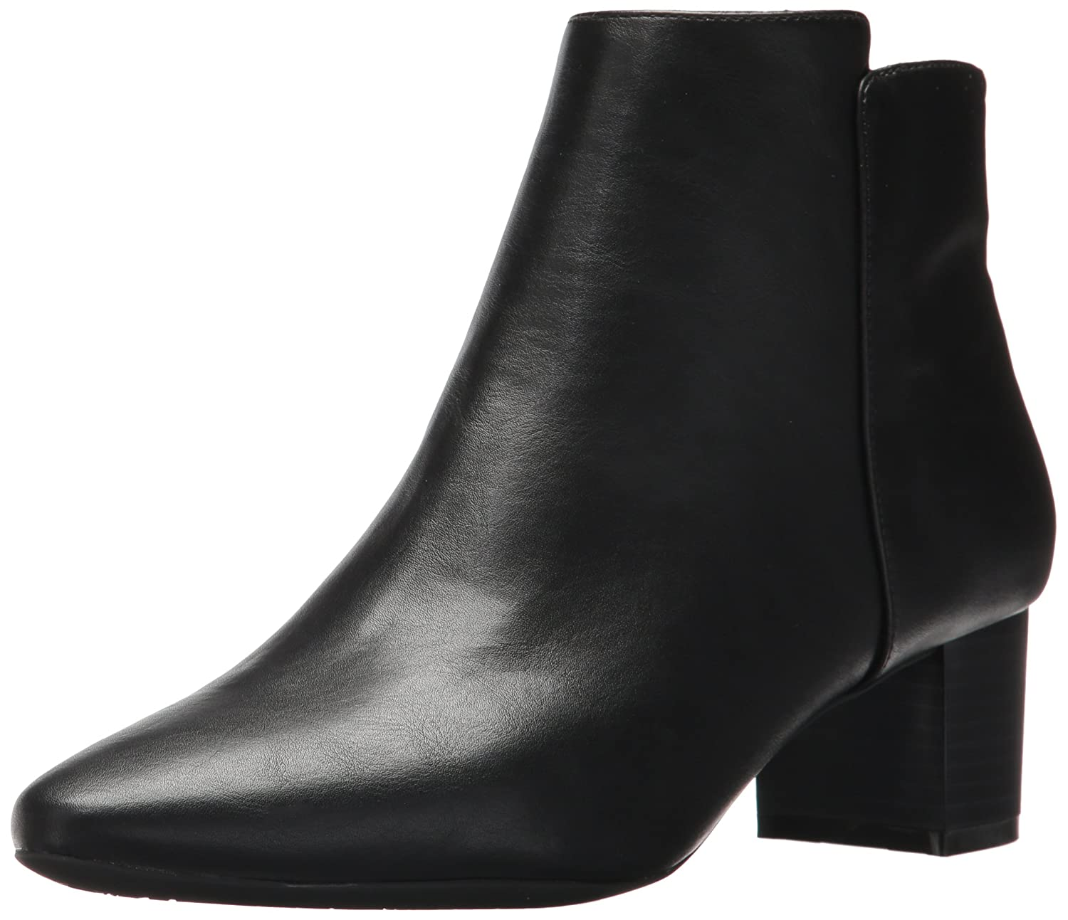 Rockport Women's Caden 2-Part Ankle Bootie B01NAXT4JZ 11 B(M) US|Black Smooth