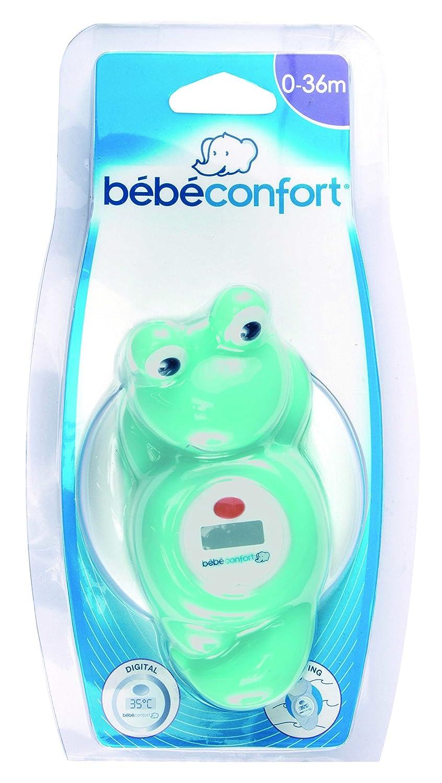 B/éb/é Confort Thermom/ètre de Bain Electronique Grenouille Sailor