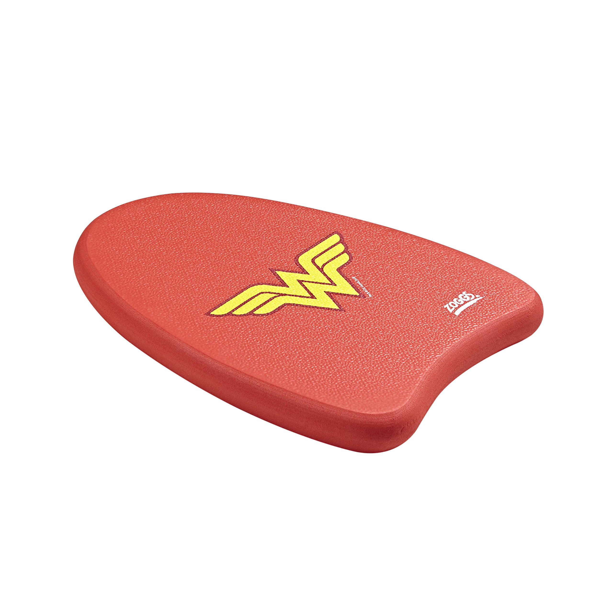 Zoggs Kids' Dc Super Heroes Wonder Woman Swimming Kickboard Float, Red/yellow,