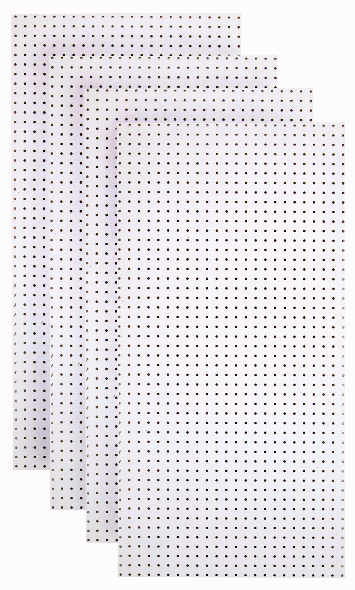 Triton Products HDW-4 (4) White Hdf Pegboards by Triton 2