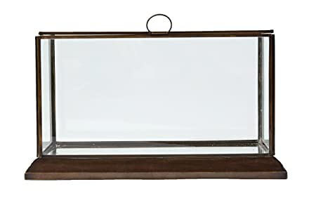 Outstanding Creative Co Op Da6535 Metal Framed Glass Display Box Amazon Dailytribune Chair Design For Home Dailytribuneorg