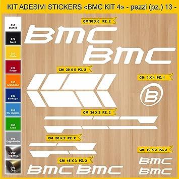 Kit Pegatinas Stickers Bicicleta BMC -Kit 4-13 Piezas- Bike Cycle ...