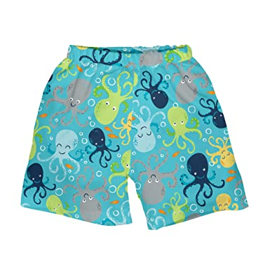 837d6842579dd Toddler Boys' Classic Trunks with Built-in Reusable Absorbent Swim Diaper