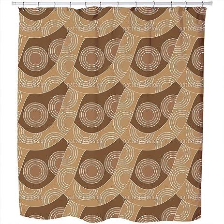 Amazon.com: Uneekee Slackline Aboriginal Shower Curtain: Large ...