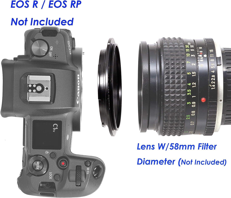 M39 EOS R M39 EOS R Adapter M39 EOS RP Adapter M39 RF Adapter Fotasy Leica M39 Lens to Canon EOS R Mount Adapter fits Leica M39 39mm LTM L39 /& Canon EOS R Mirrorless Camera EOS R//EOS RP