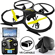 Force1 Drones with Camera for Adults and Kids - U818A WiFi FPV 720p HD Camera Drone