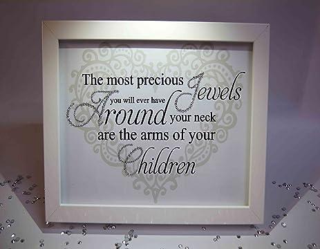 Amazon.com: Precious Jewels Children, Sparkle Word Art Pictures ...