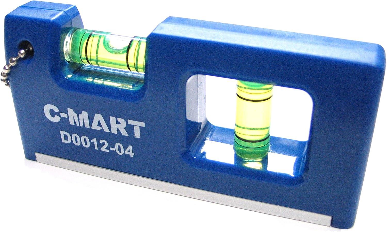 Pocket Level 4 x 1.8 Mini Spirit Level Strong Magnet