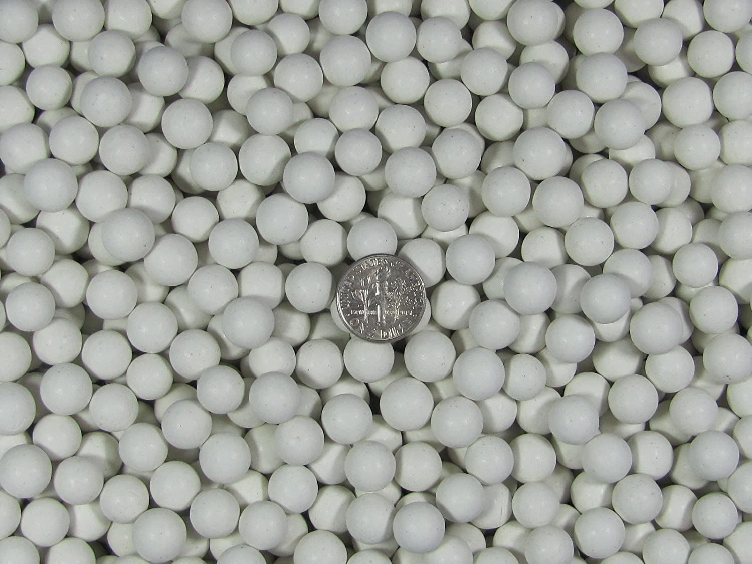 3 mm Polishing Sphere Ceramic Porcelain Tumbling Media Non-Abrasive 1 Lb
