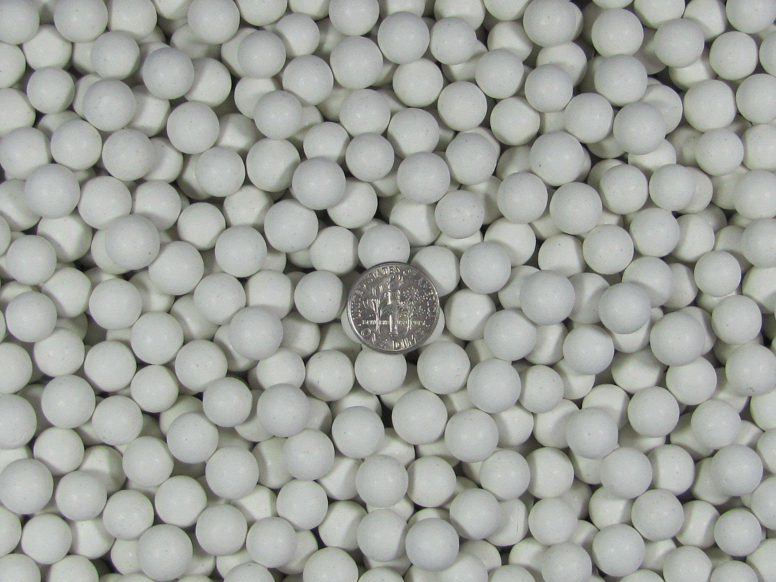 3 Lb. 10 mm Polishing Sphere Non-Abrasive Ceramic Tumbling Tumbler Tumble Media