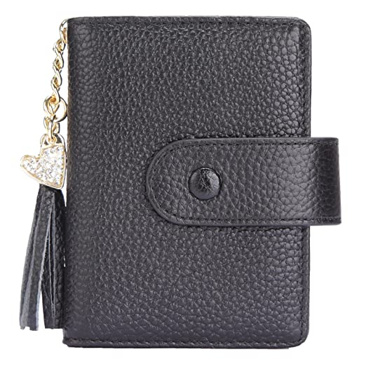ea5cbddfa9a Women's Mini Credit Card Case Wallet with ID Window and Card Holder purse 9  Colors