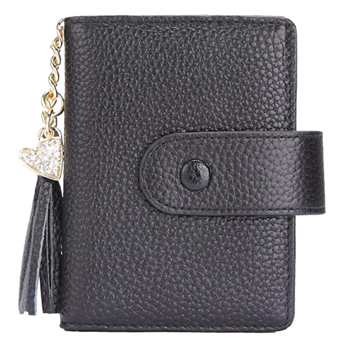 brand new d938e cd2d4 Women's Mini Credit Card Case Wallet with ID Window and Card Holder purse 9  Colors