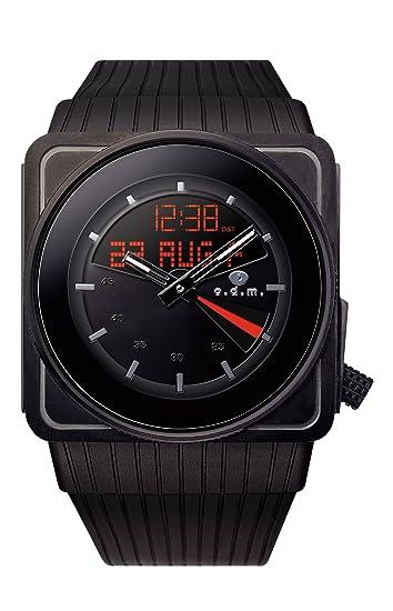 ODM SU99-1 - Reloj analógico - digital de cuarzo para mujer, correa de